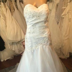 David's Bridal wedding dress gown formal